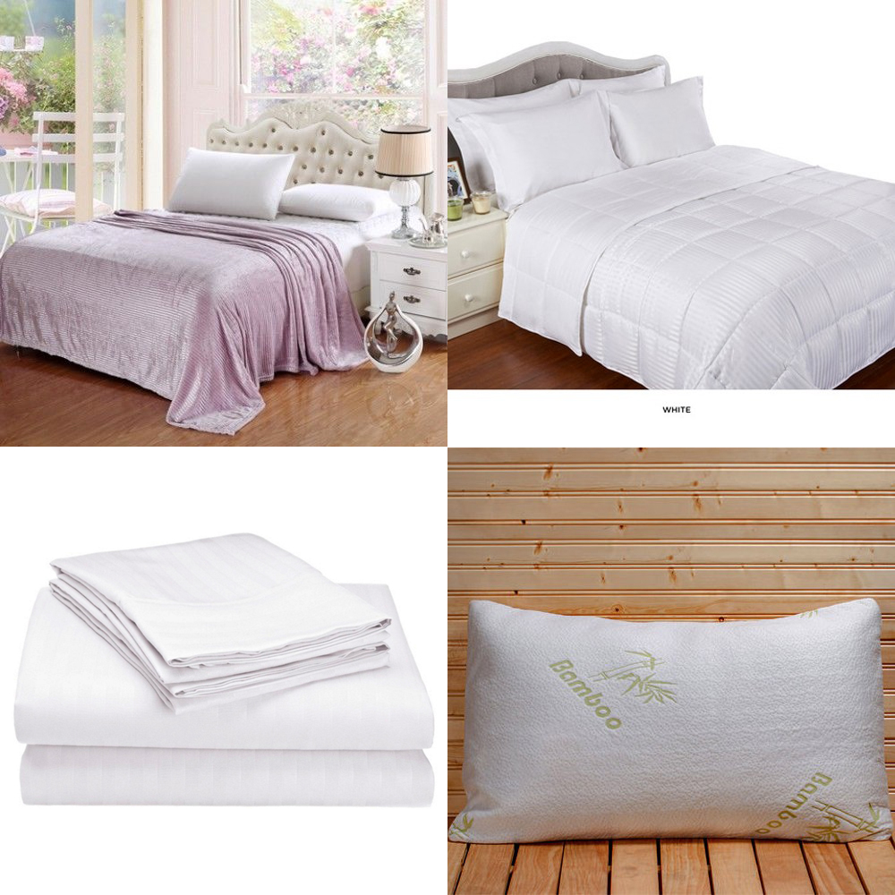 8 Piece Bed In A Bag Comforter Set With Pillows Twin