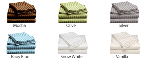 colors  2 PACK: Hotel Life Deluxe 100% Cotton Sateen Sheet Set $29.99 with Free Shipping!!  *$14.99 each set*