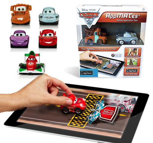 2-Pack-Disney-Pixar-Cars-2-AppMATes-for-iPad-Collect-Them-All