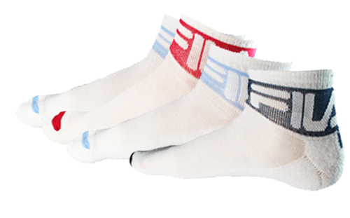 FILA-4-Pair-Lo-Cut-Quarter-Sport-Athletic-Socks-for-Men-Women