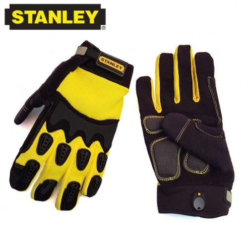 Stanley ProDex Gel Heavy Task Activity Gloves w/ TPR Knuckle Protection-2 Styles