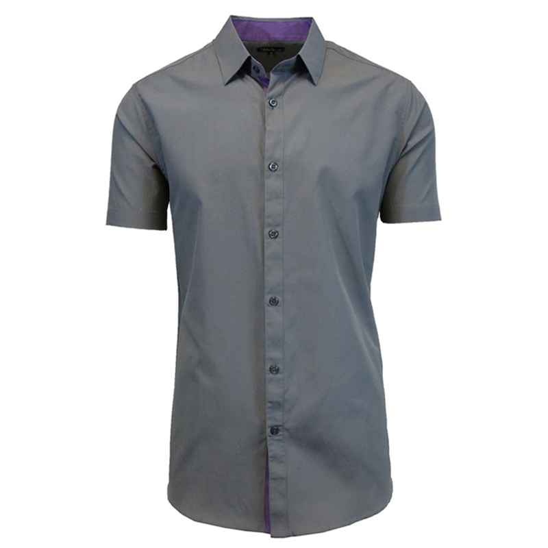 Galaxy By Harvic Men 39 S Cotton Short Sleeve Solid Casual