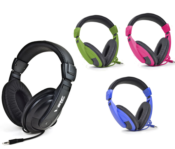 Vibe-Sound-VS-750-DJ-Noise-Reduction-Stereo-Headphones-In-4-Stylish-Colors