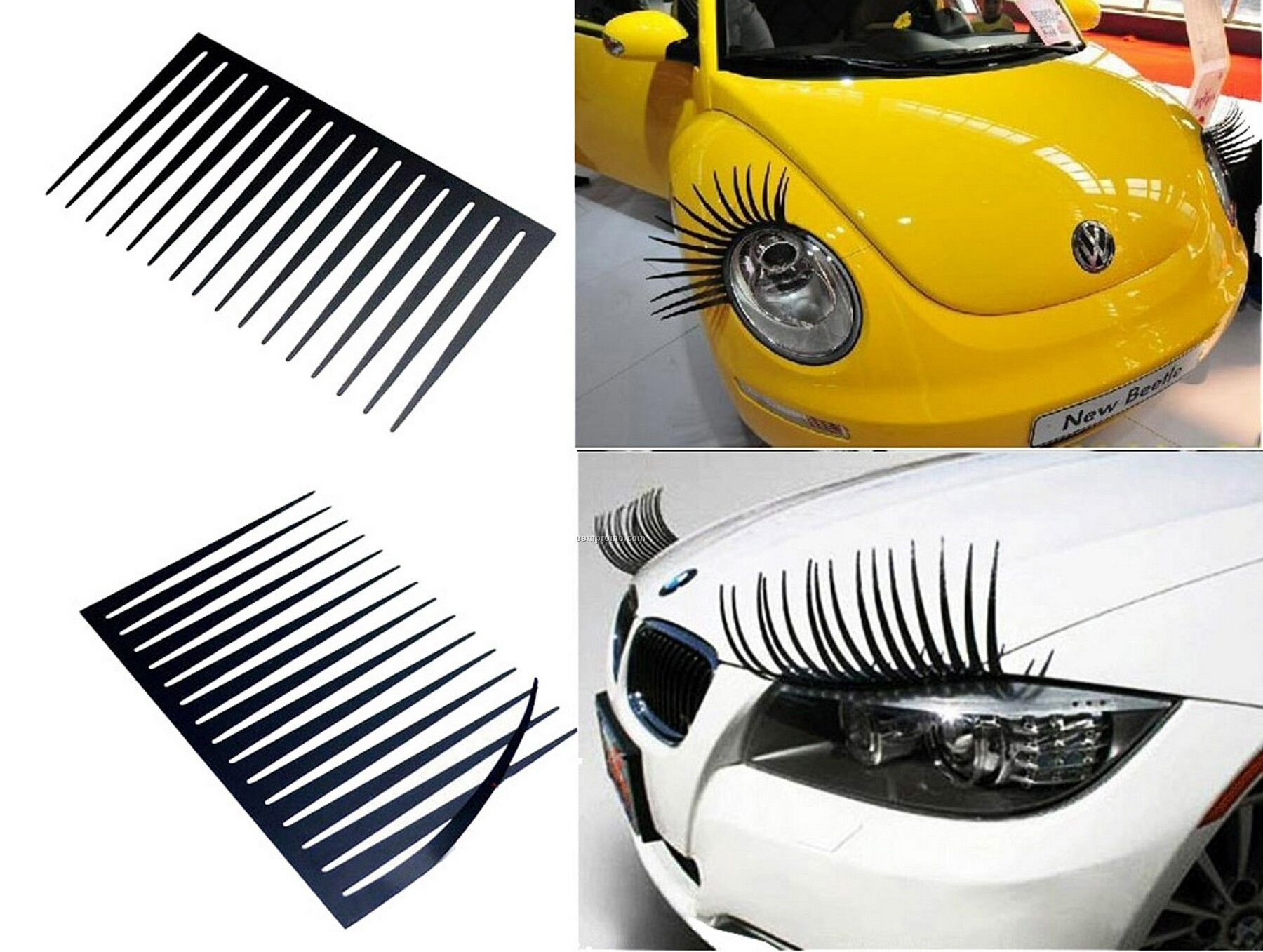 Funny 73 Off Decorative Car Eyelashes Fashion Accessory 399