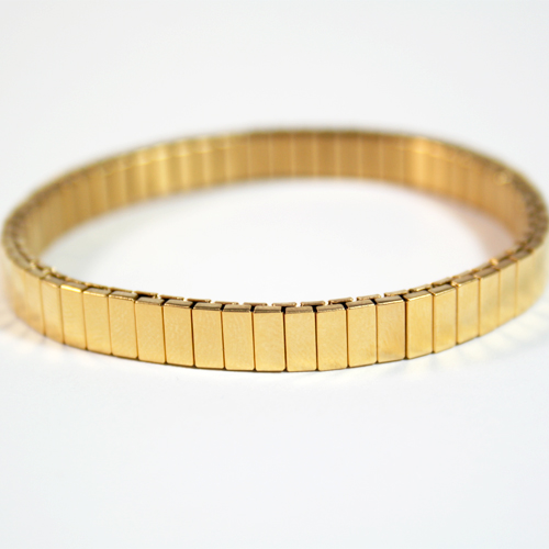 Luxury Stretch One Tone Polished Bracelets - In 3 Colors!
