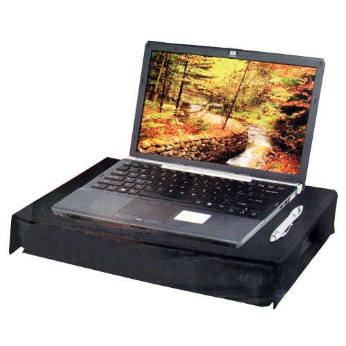 Portable Lap Desk With Handles Accommodates Most Laptop