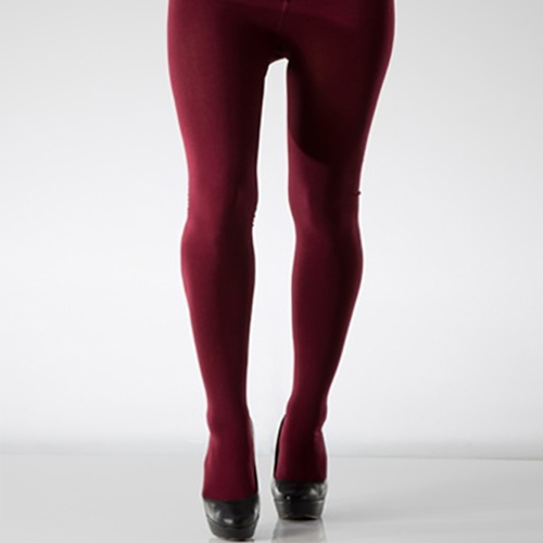 Ladies Fleece Lined Footed Tights
