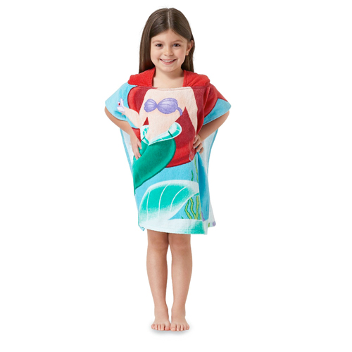 Northpoint-Kids-24-034-x48-034-100-Cotton-Hooded-Beach-Towel-for-Boys-amp-Girls
