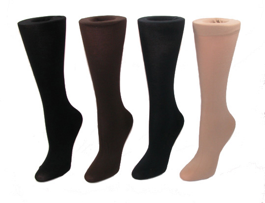 Womens-Light-Solid-Trouser-Socks