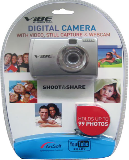 Vibe-Digital-Camera-with-Video-Still-Capture-Webcam-Shoot-Everywhere-Silver