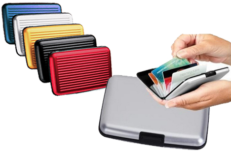 Aluminum-RFID-Blocking-Credit-Card-Wallet-Case-Keep-RFID-Cards-Safe