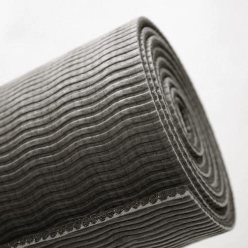 Yoga Lifestyle Reversible Workout Mat (Grey)