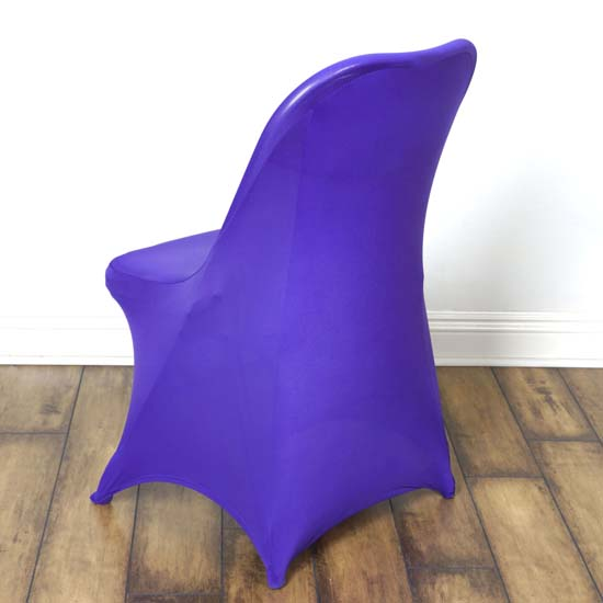 100 PCS Stretchy Spandex Fitted Folding Chair Cover Dinning Slipcover For Party