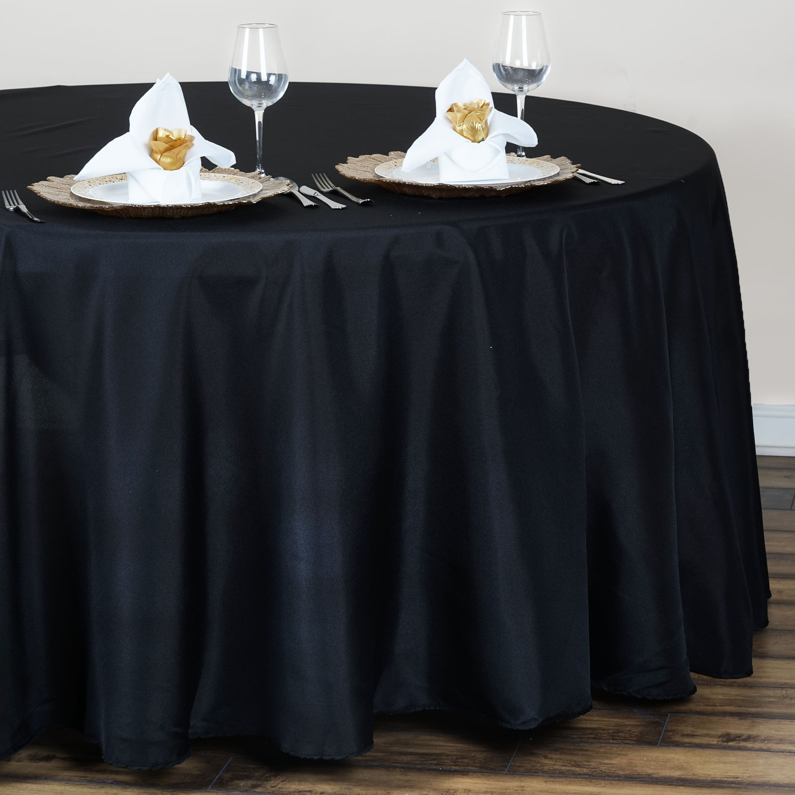 120 round polyester tablecloth for 120 table cloth