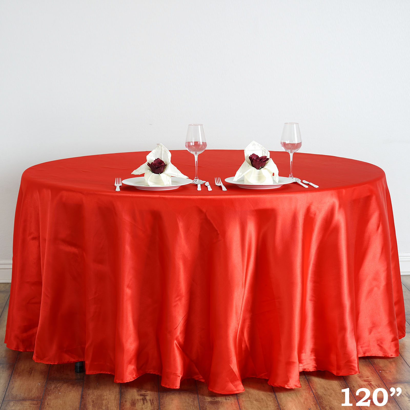 120 round satin tablecloth ebay for 120 round table cloths