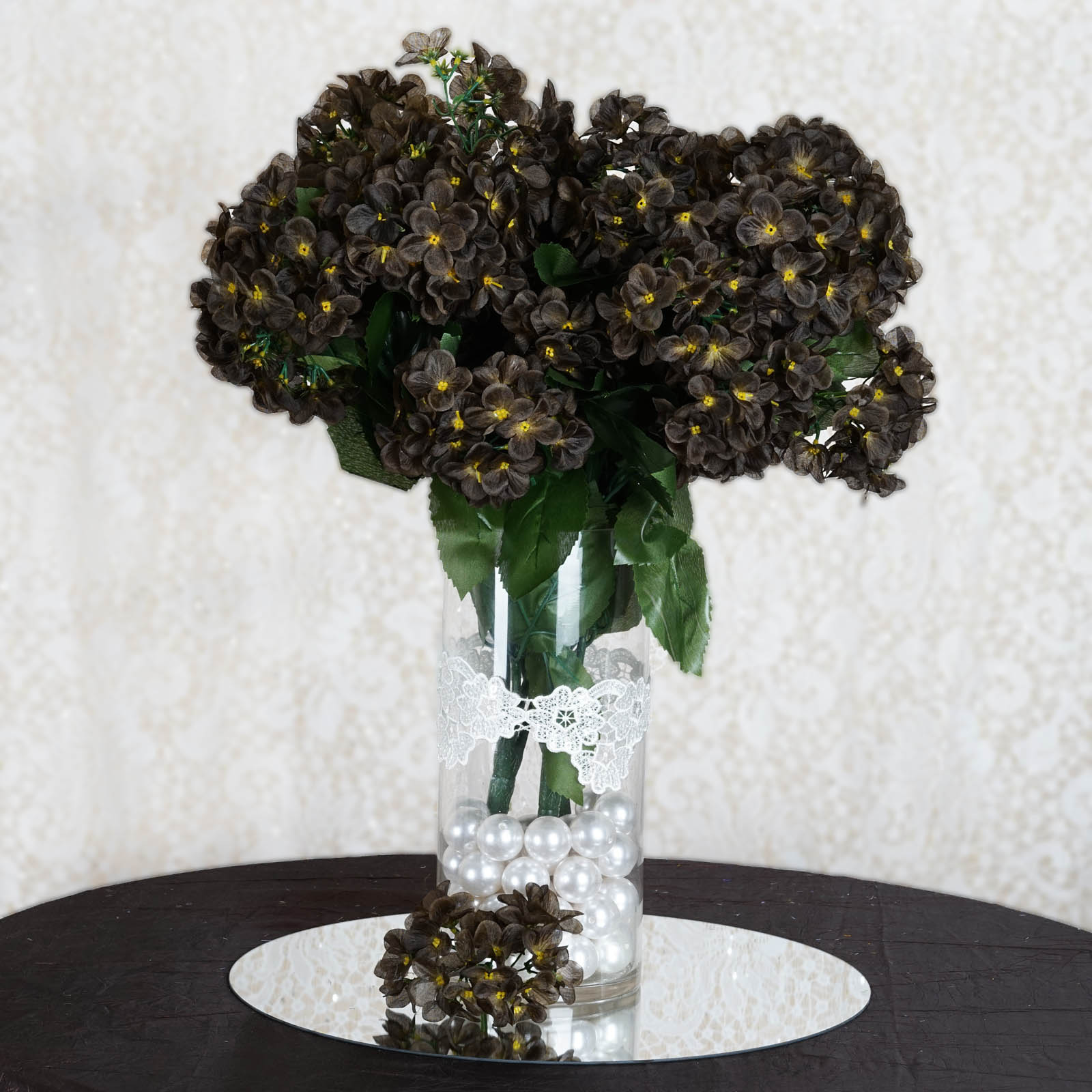 56 silk hydrangea flowers wedding party home bouquets centerpieces arrangements. Black Bedroom Furniture Sets. Home Design Ideas