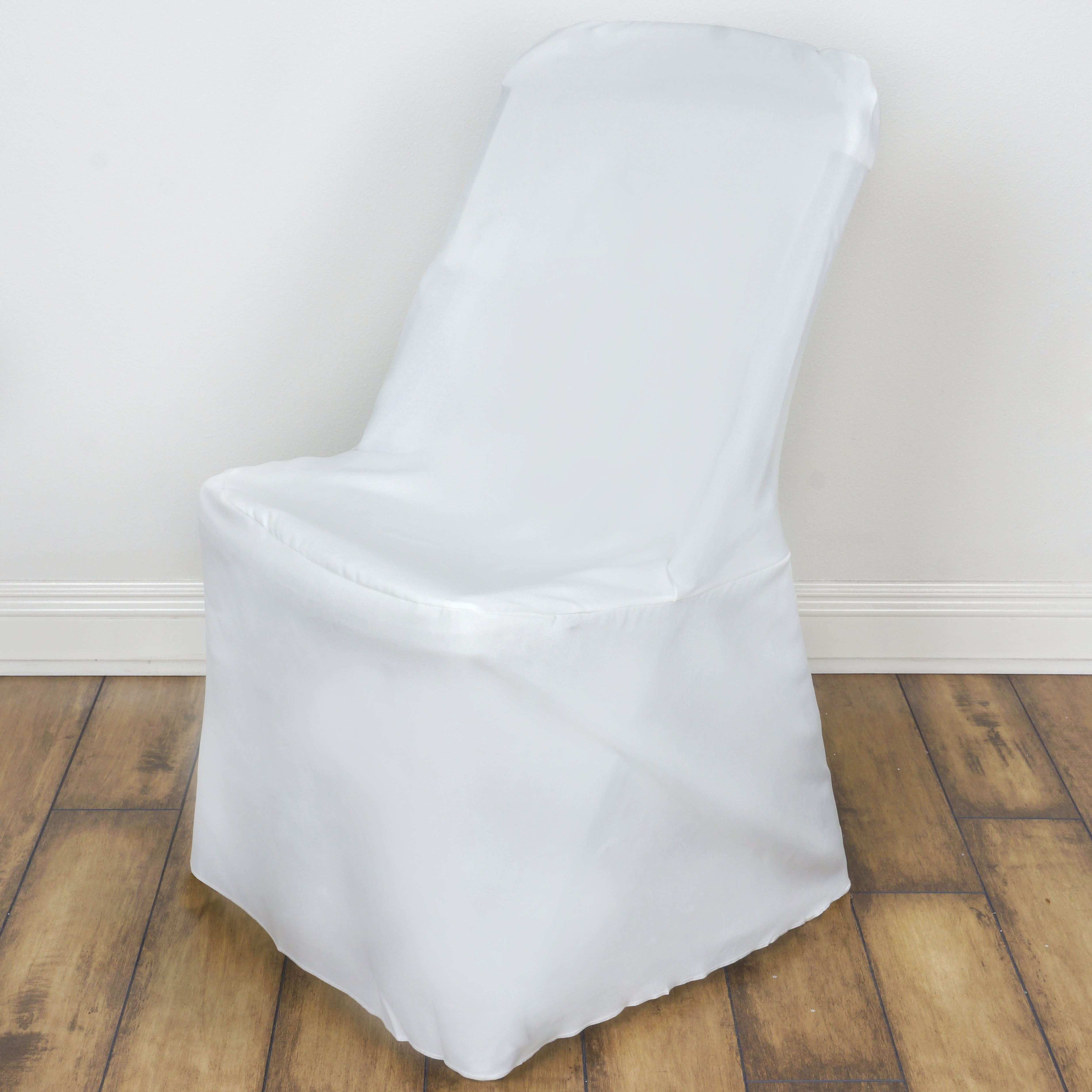 50 Ivory LIFETIME FOLDING CHAIR COVERS Wedding Party Reception Decorations