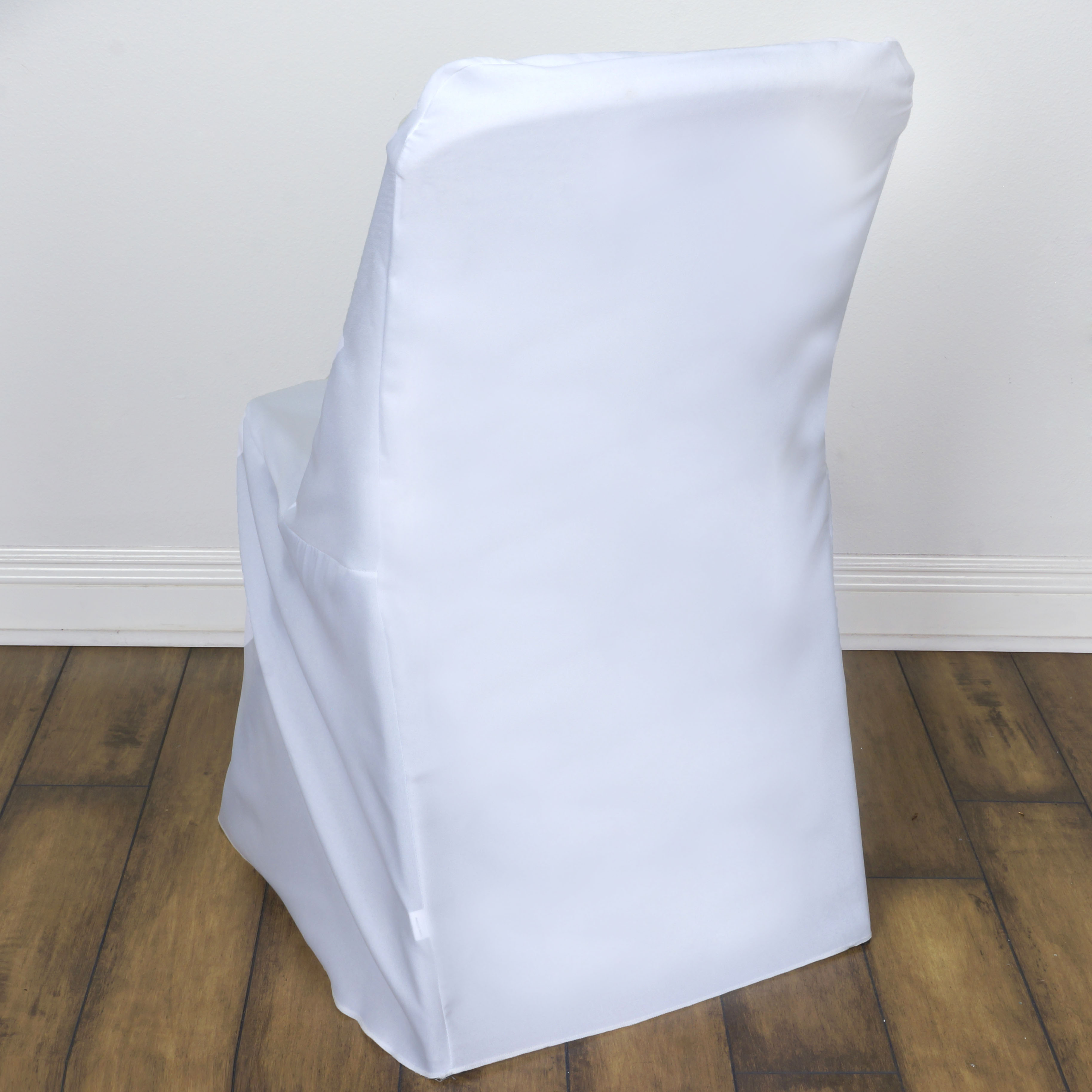 10 White LIFETIME FOLDING CHAIR COVERS Wedding Party