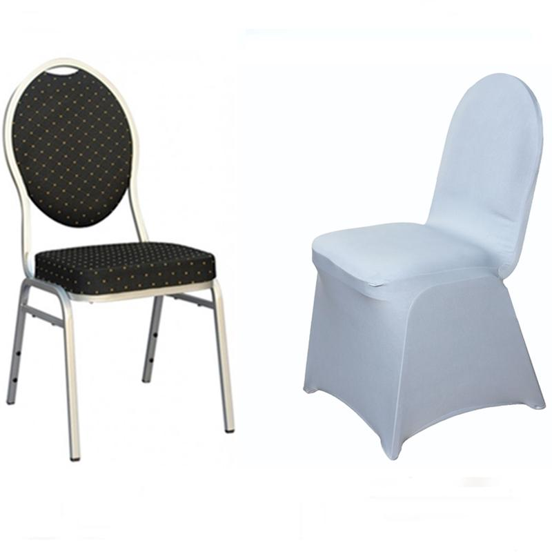 50 Pcs SPANDEX Stretchable High Quality CHAIR COVERS Party Wedding Supplies S