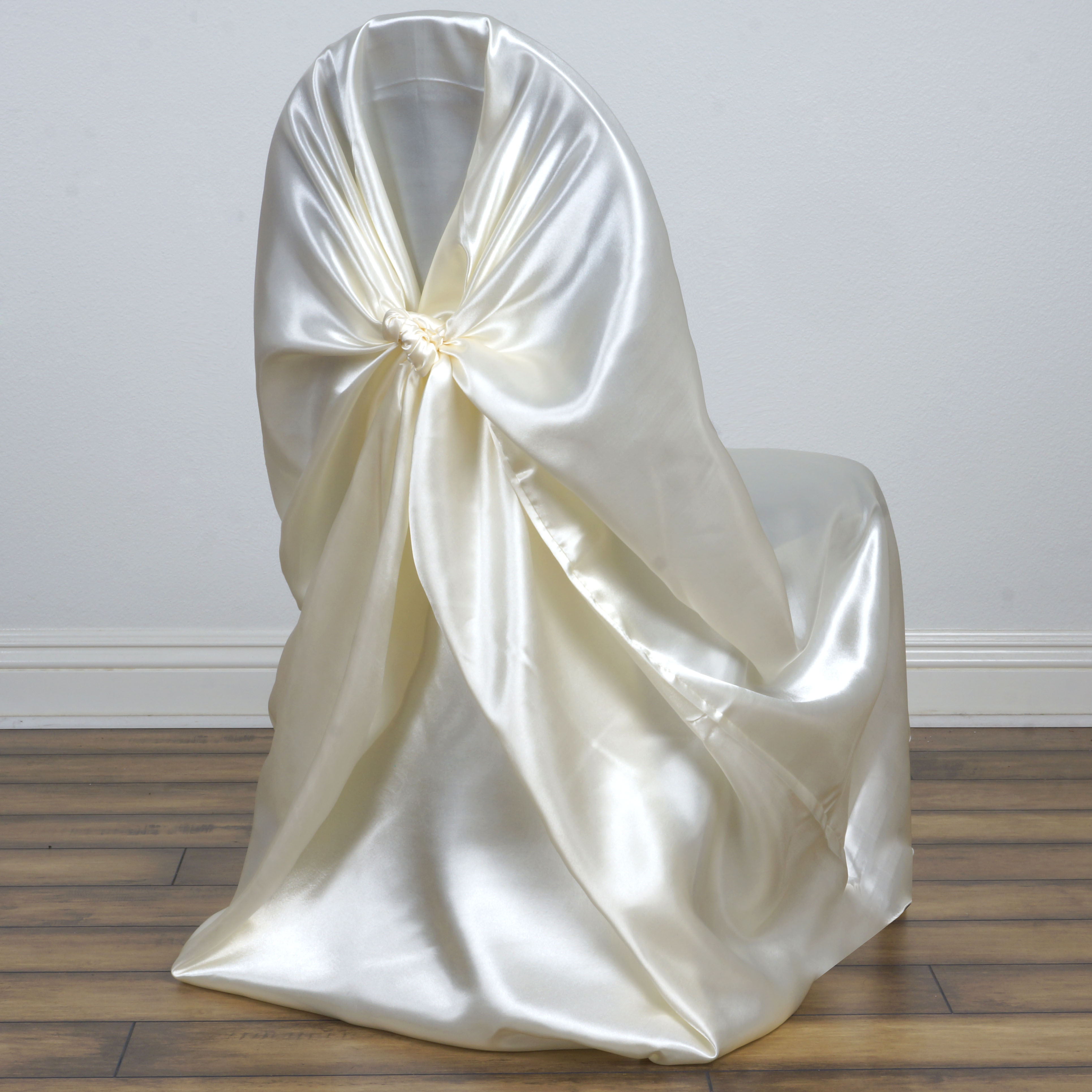 75 pcs SATIN UNIVERSAL CHAIR COVERS for all kinds of Chairs
