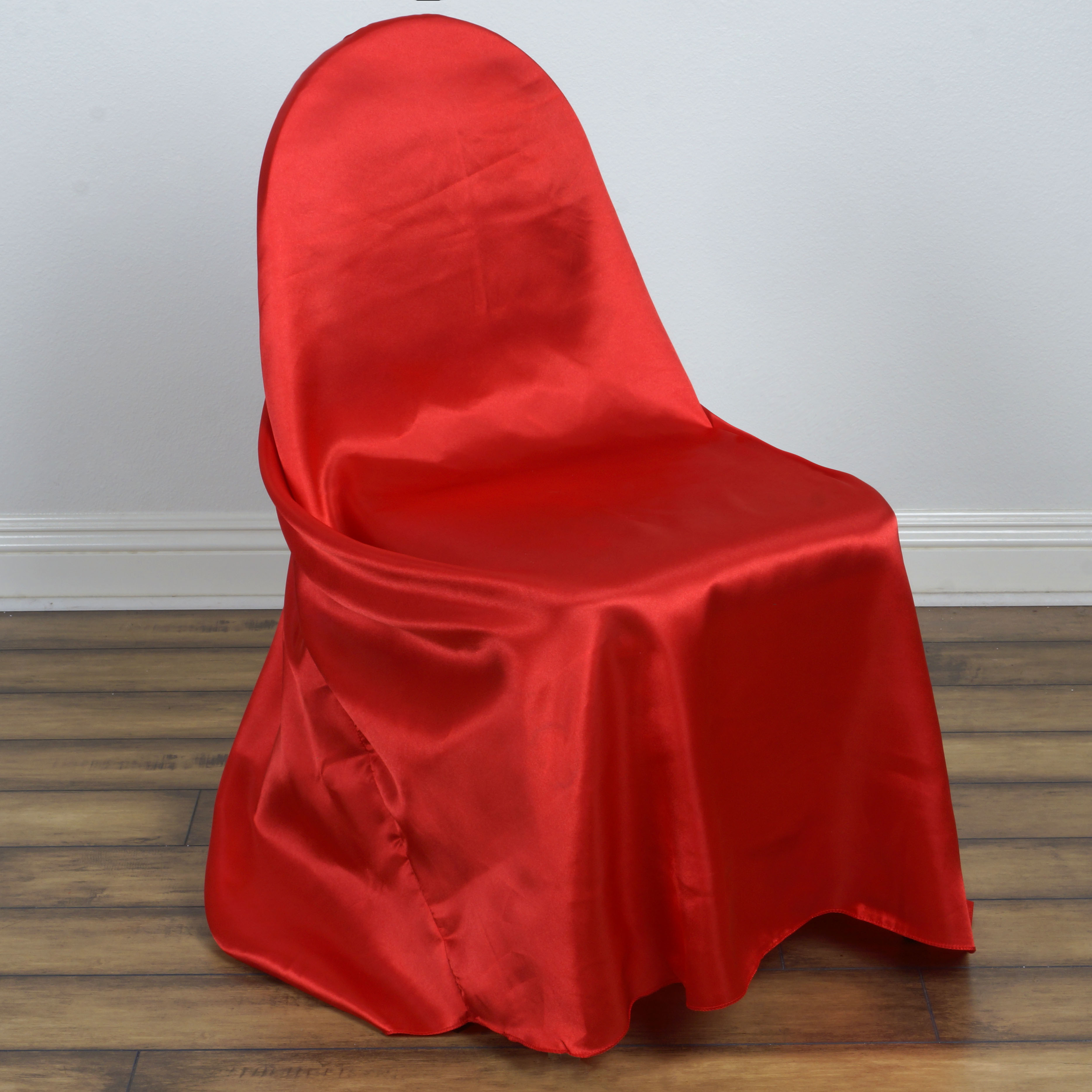 satin universal chair covers wholesale wedding party ceremony supplies
