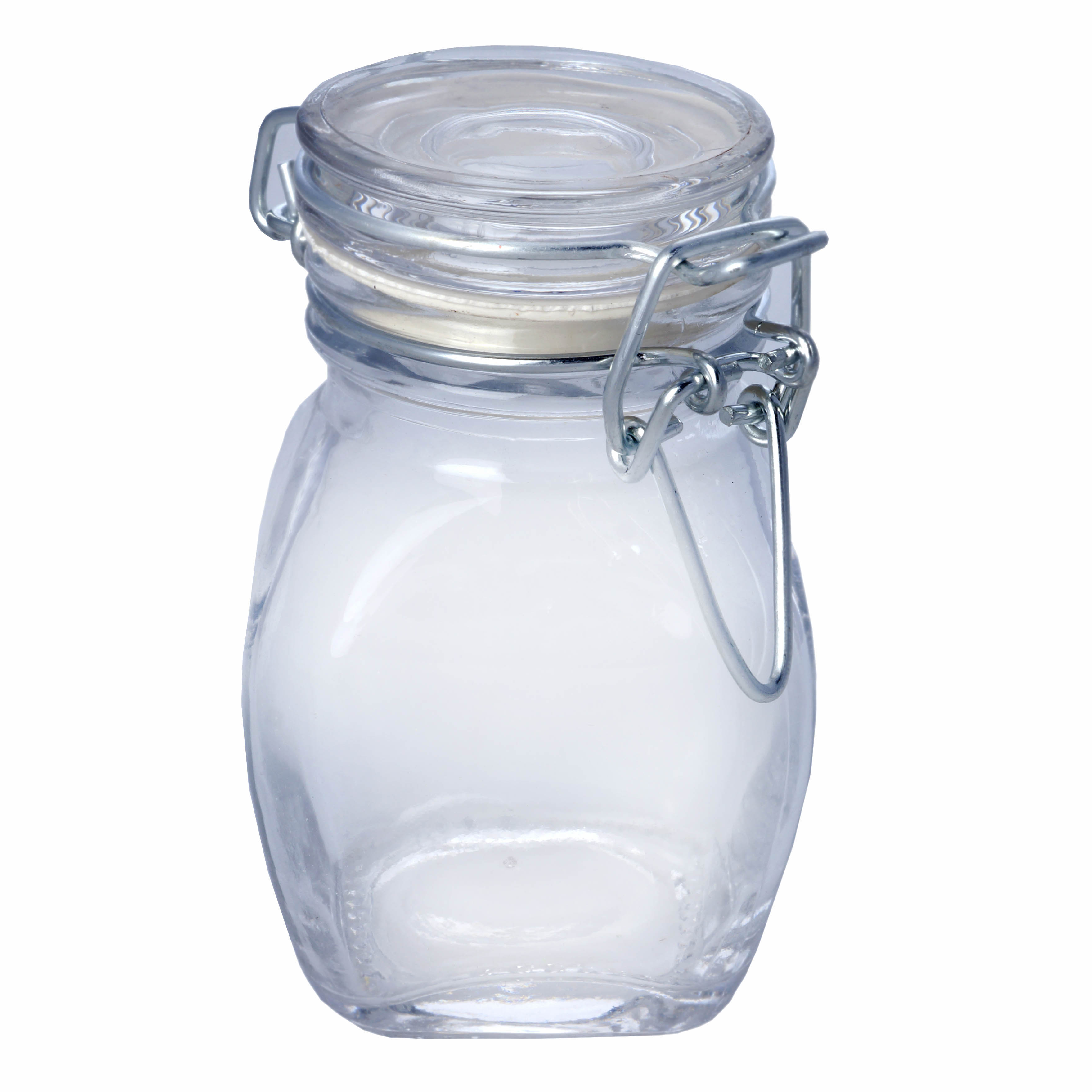 clear 4 oz glass mini jars bottles favors wedding party holders wholesale bulk ebay. Black Bedroom Furniture Sets. Home Design Ideas