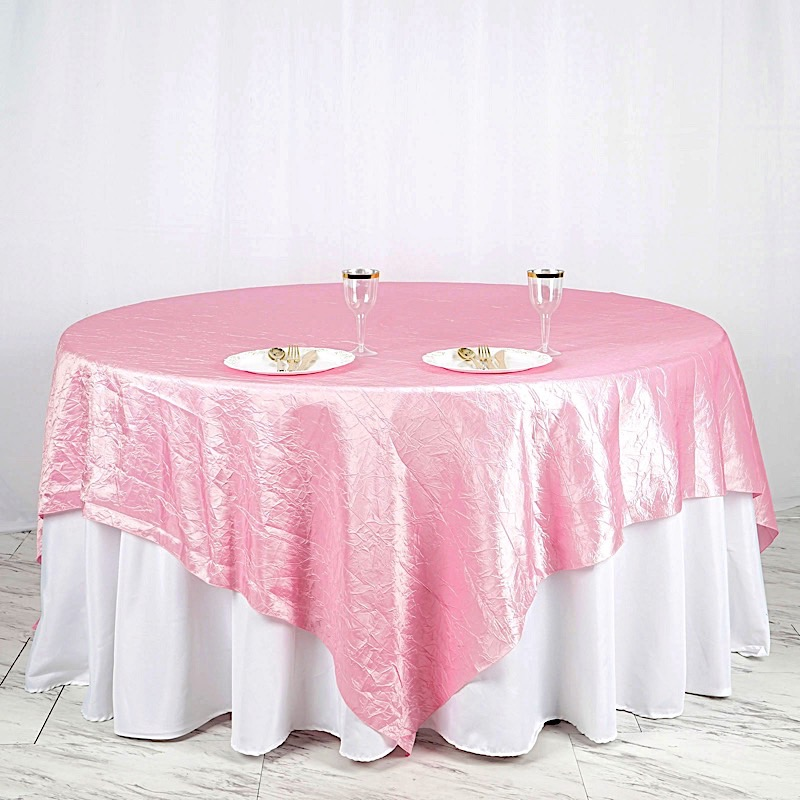 """6 X Crinkled 90x90"""" Square Table Overlays Toppers Wedding. Mac Desk Top. Mainstay Computer Desk. Black Corner Table. Dining Table Extension. Trade Show Table. Tablecloths For Round Tables. Kitchen Table With Drawers. Pull Out Drawers For Cabinets"""