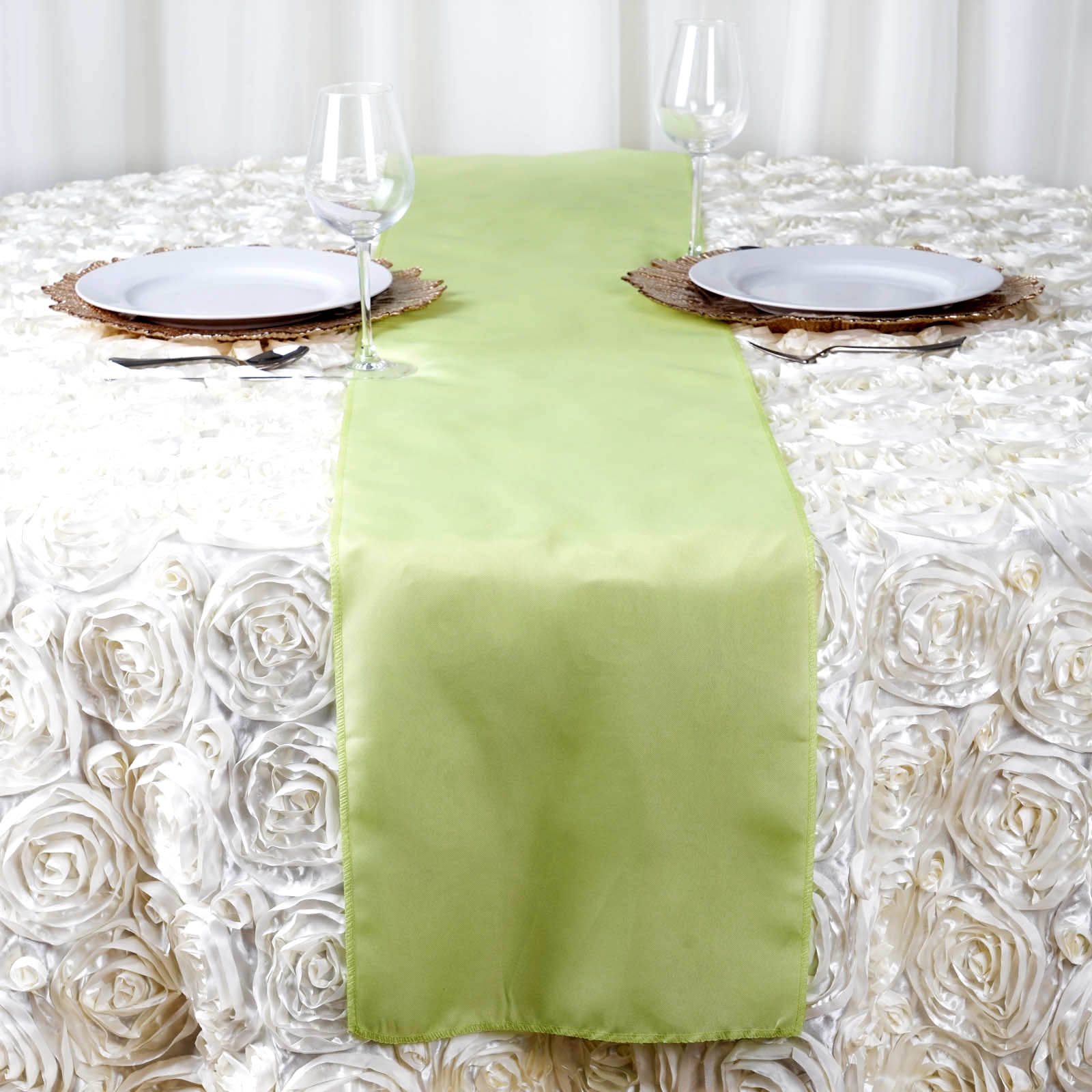 wedding reception decorations table linens