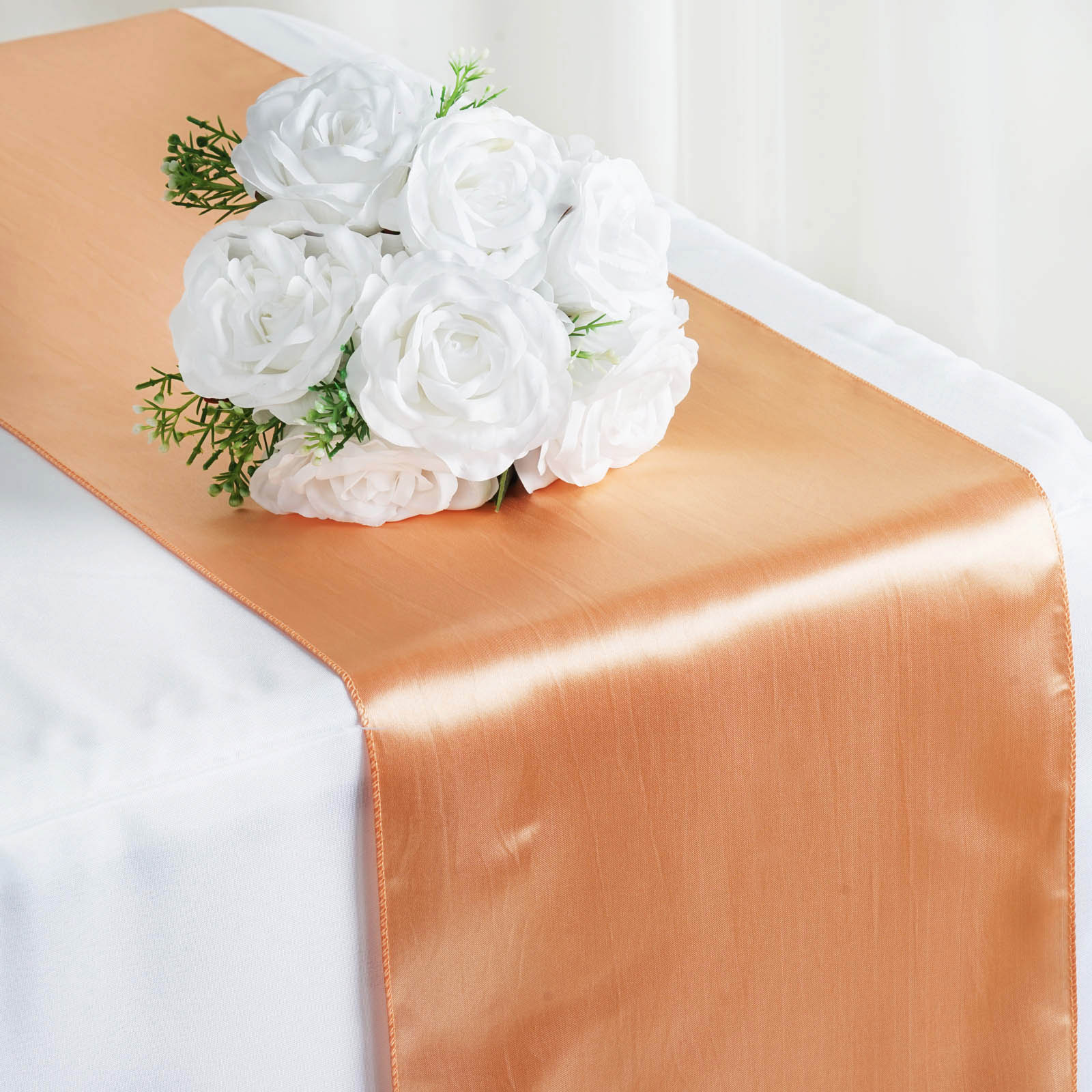 30 pcs satin 12x108 table runners wholesale wedding party for Table runner