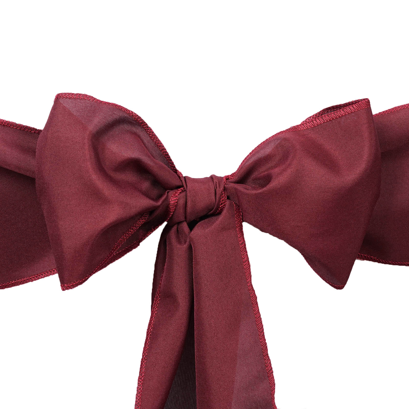 50 Polyester CHAIR SASHES Ties Bows Wedding Party Ceremony Reception Decorations