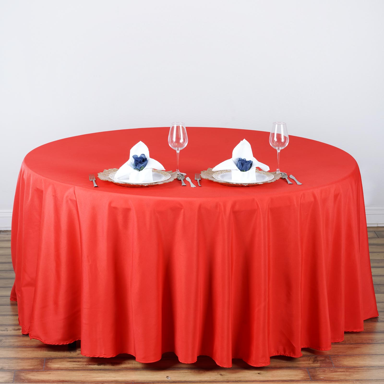 discount polyester tablecloths