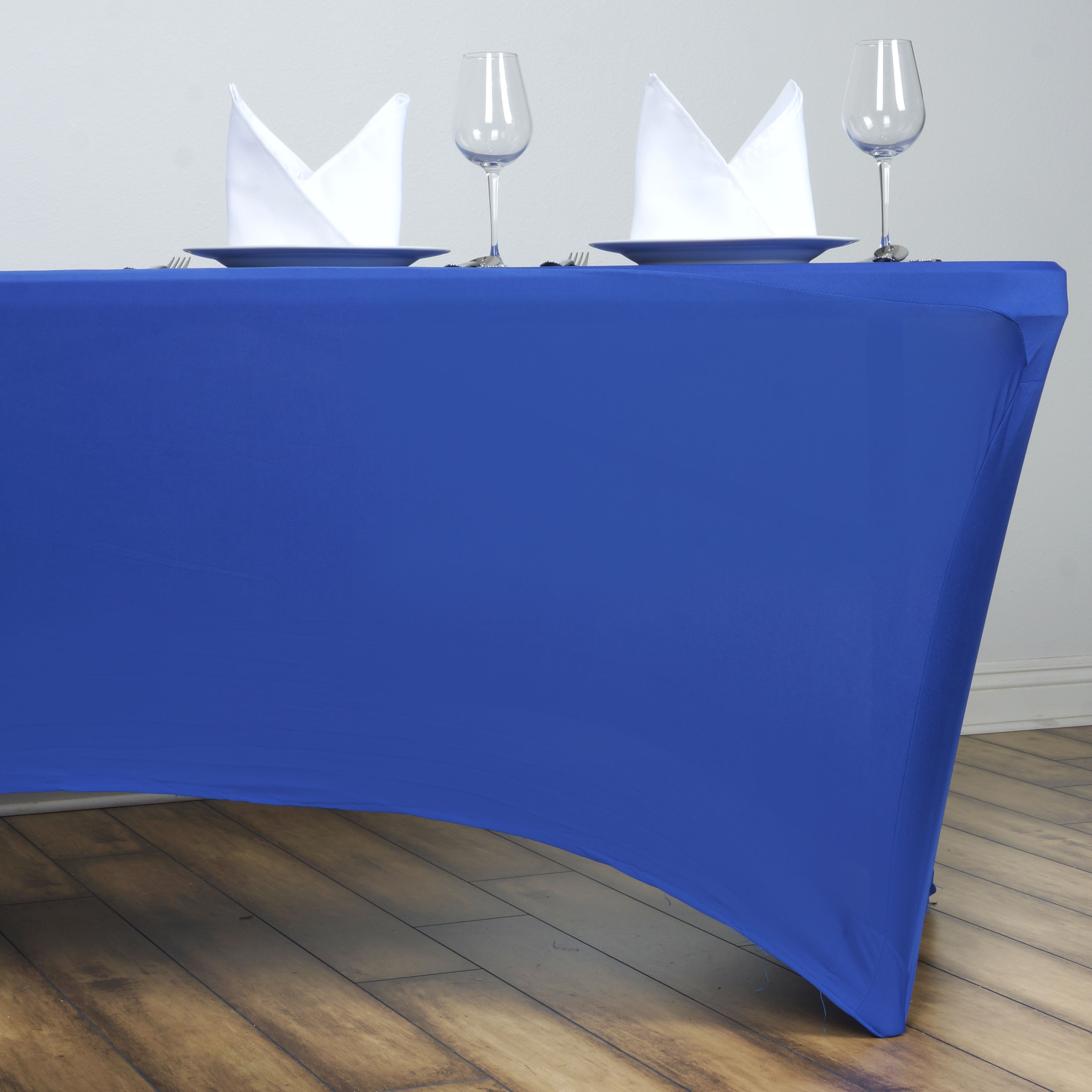 6 Pcs 6 ft Rectangle Spandex Stretch Table Covers Fitted  : tabrecspx6ftroy01 from www.ebay.com size 3653 x 3653 jpeg 778kB