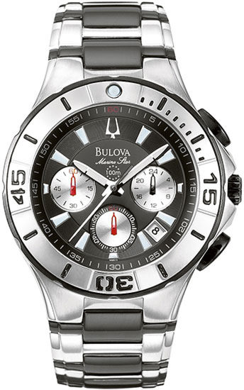 Bulova Mens Marine Star Chronograph Watch 98B013