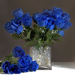 252 Silk Buds Roses Wedding Flowers Bouquets Wholesale