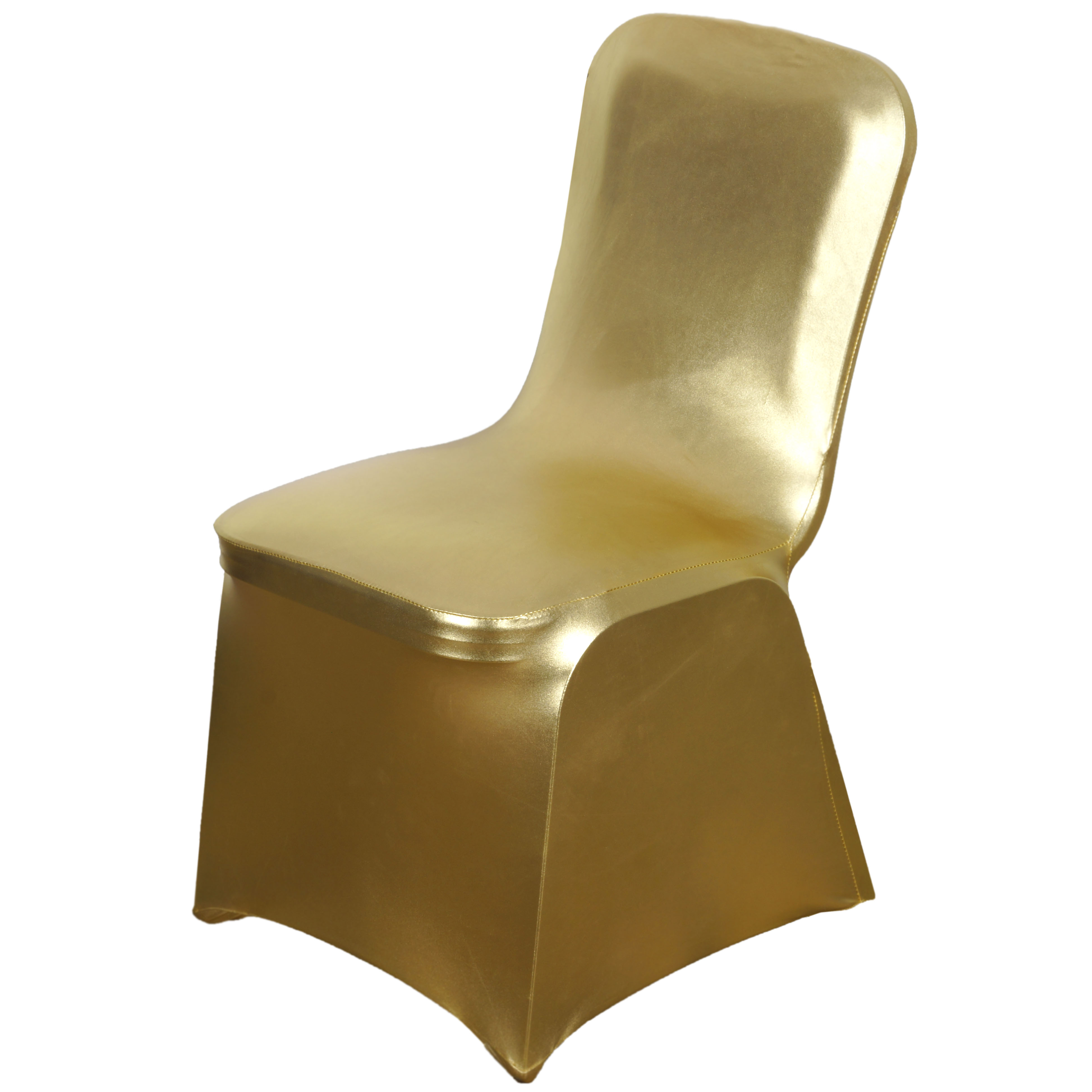 Lame Spandex Elastic Stretchable Chair Covers Wedding