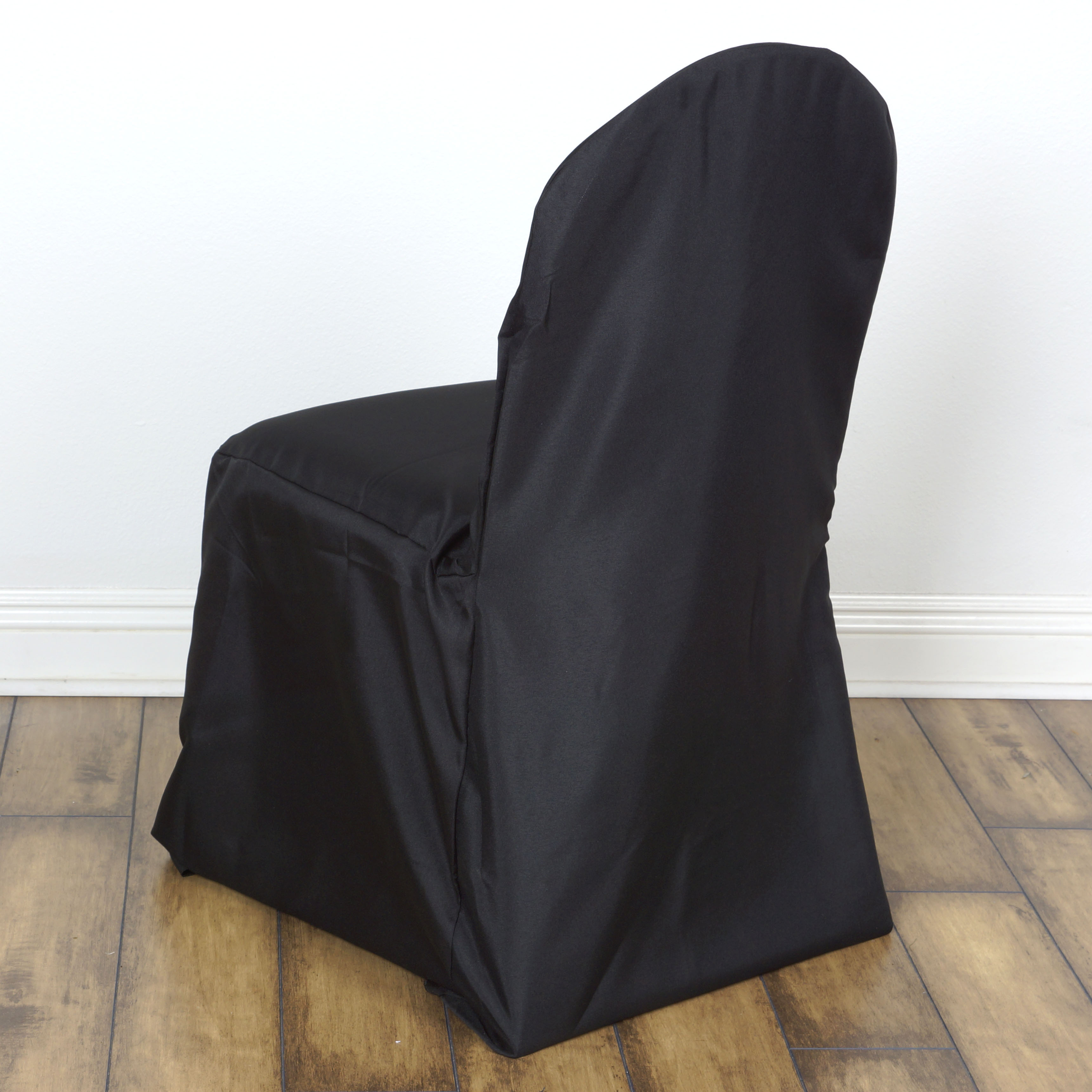 50 pcs Polyester Banquet CHAIR COVERS Wedding Reception Party Supplies Wholes