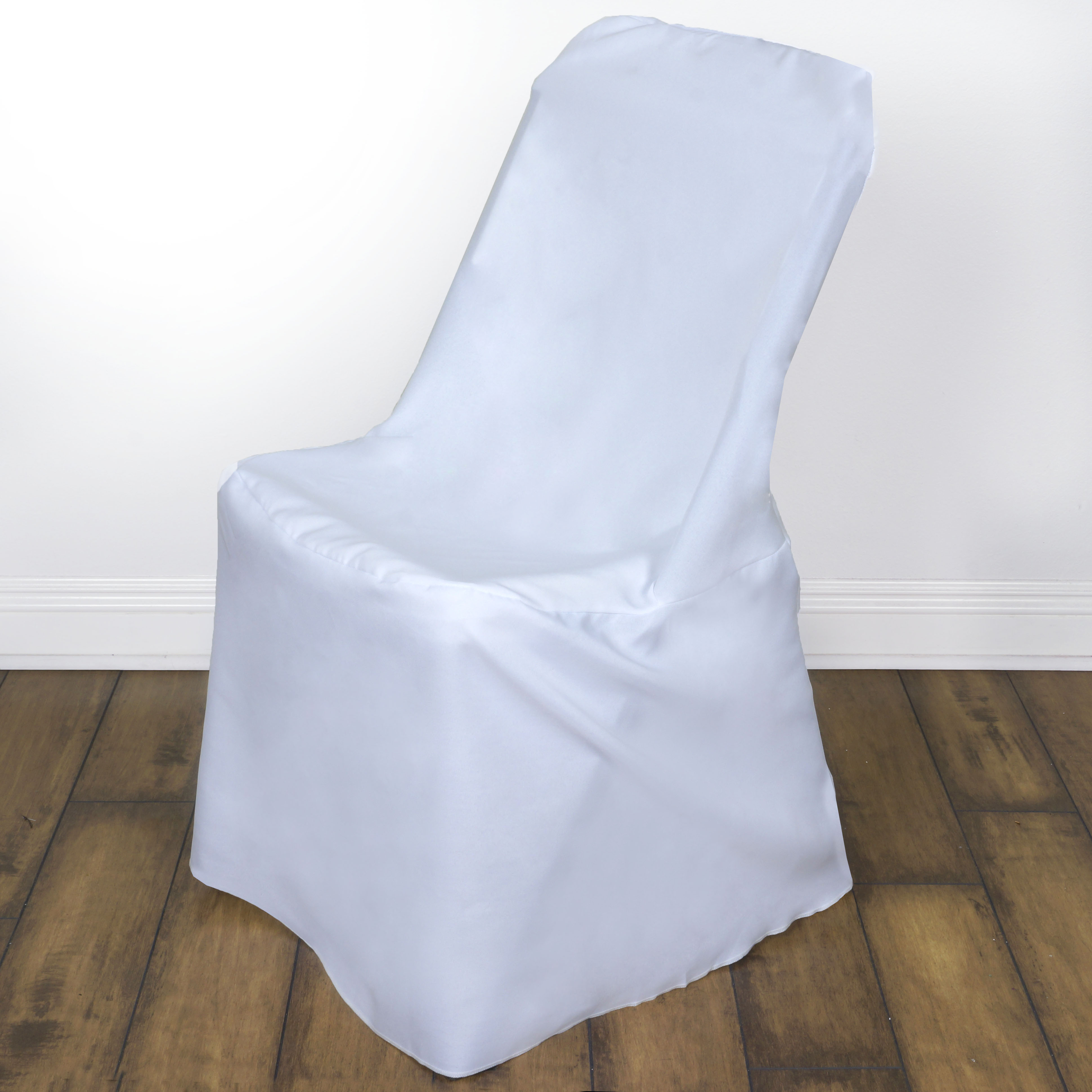 50 pcs LIFETIME Folding CHAIR COVERS Slipcovers Polyester Wedding Party Linen