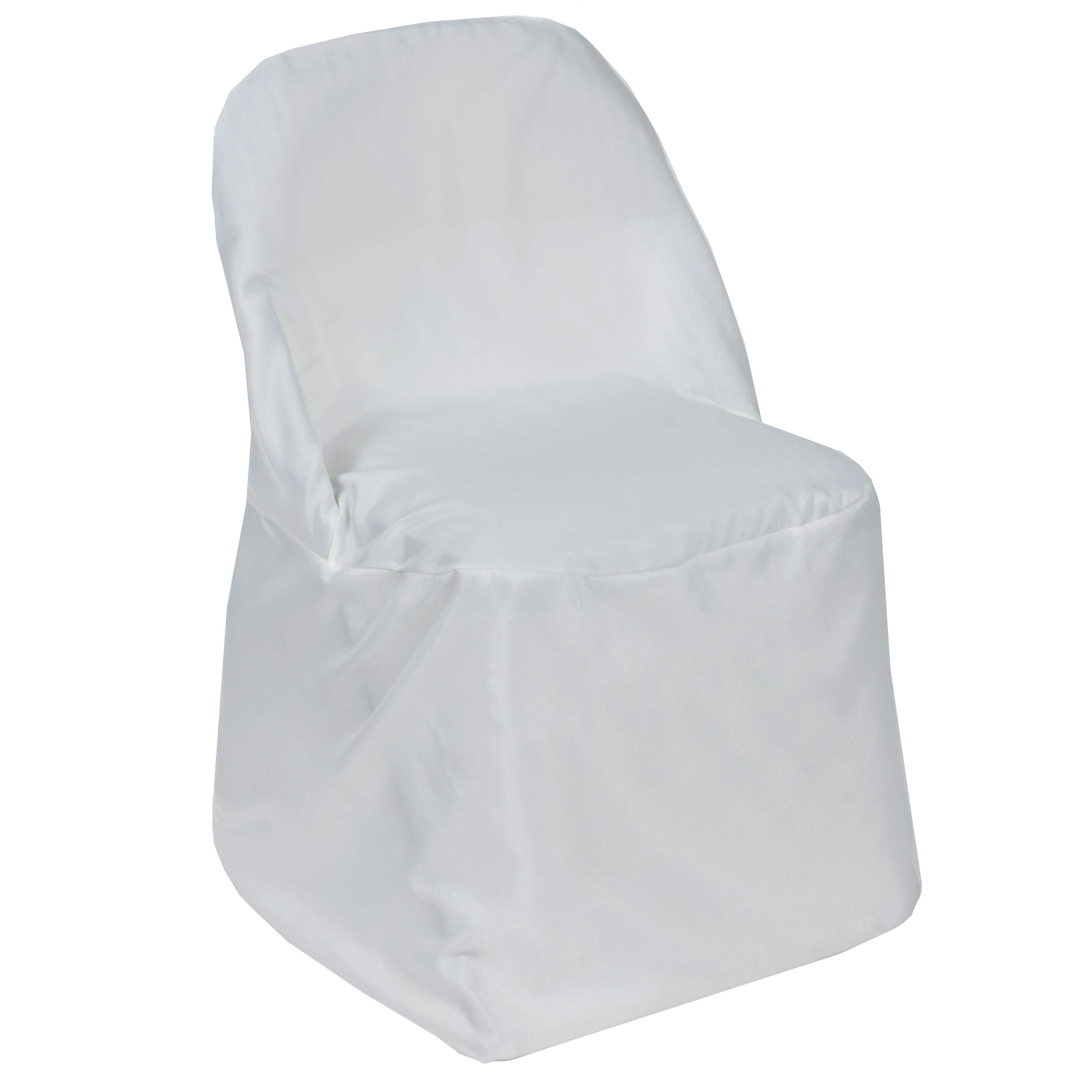 50 FOLDING Round Polyester Fabric CHAIR COVERS Wedding Party Wholesale Suppli
