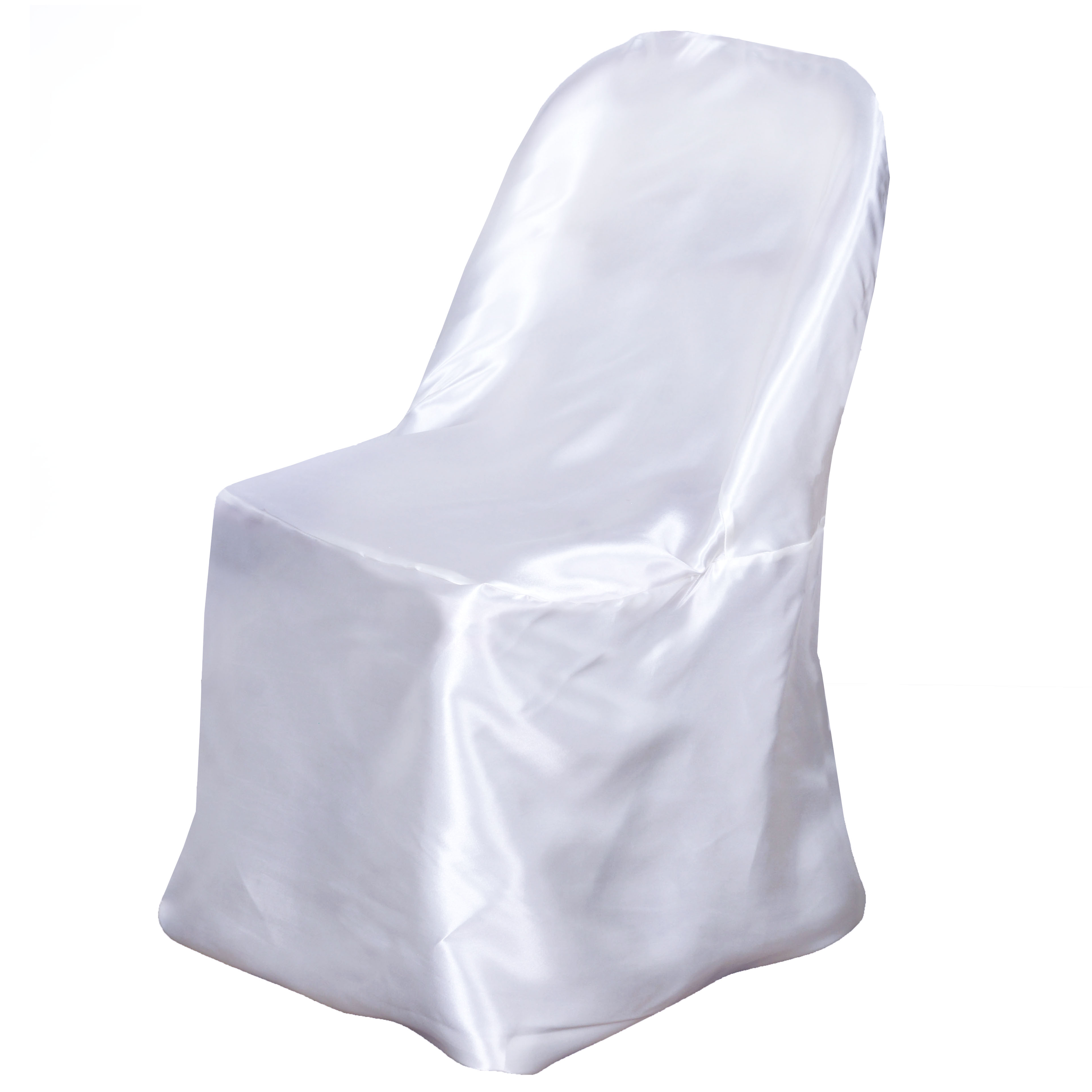 150 pcs Satin Folding CHAIR COVERS Wedding Catering Party
