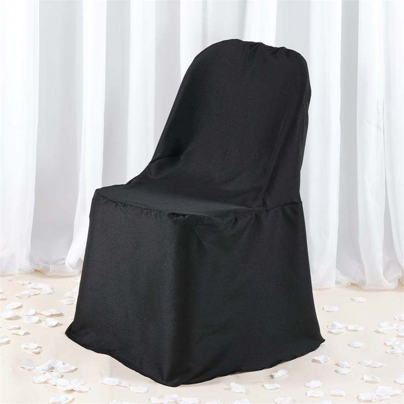 Premium Polyester Folding Flat Banquet CHAIR COVERS Wedding Party Supplies SA