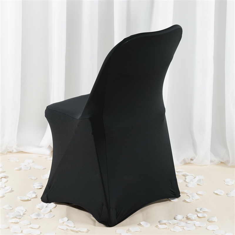 spandex folding banquet chair covers wedding party ceremony wholesale