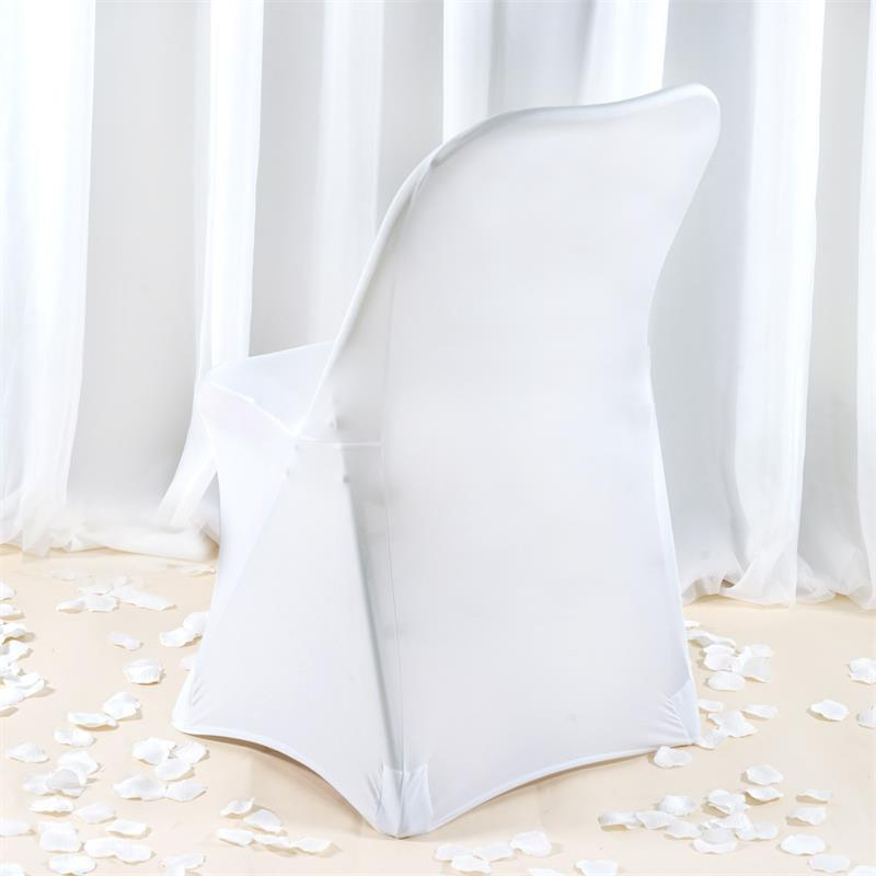 PREMIUM Spandex Folding Banquet CHAIR COVERS Wedding Party Ceremony Wholesale
