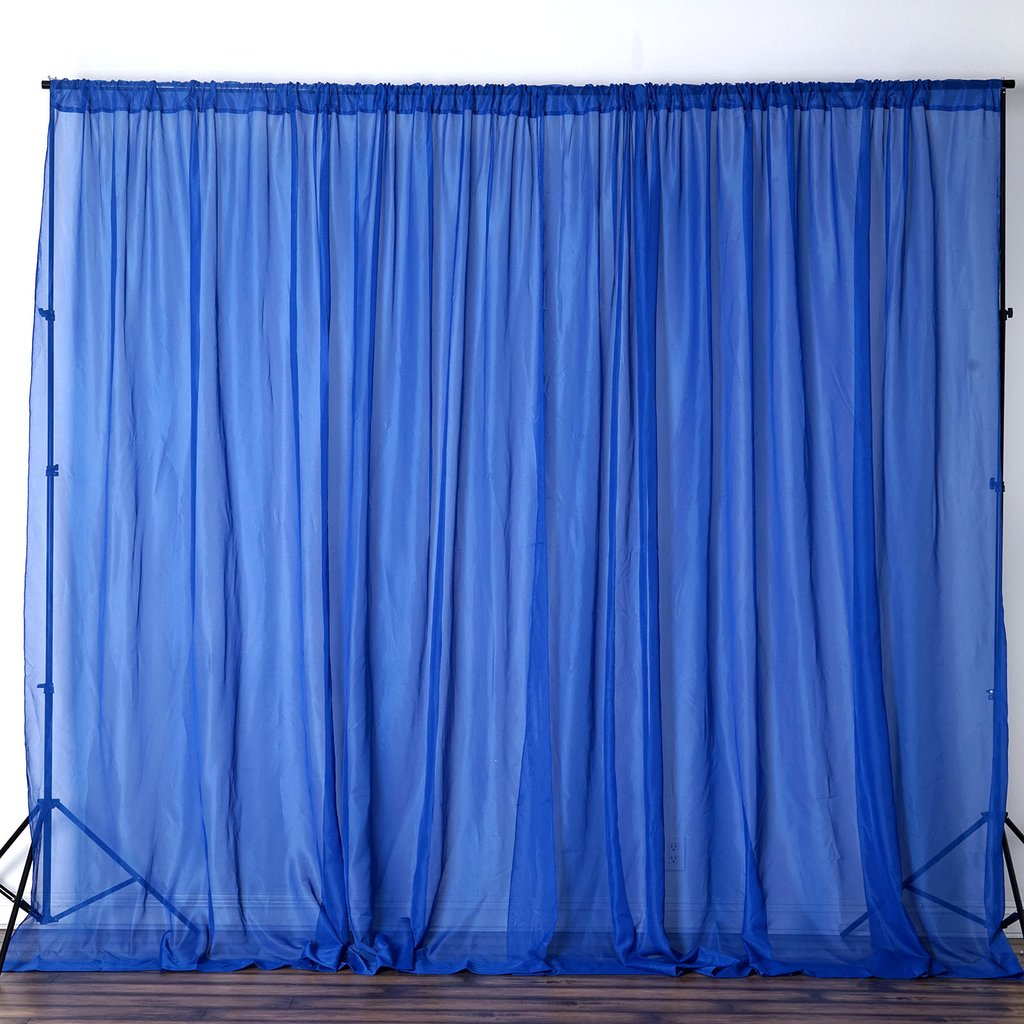 10ft X 10ft Sheer Voile Professional Backdrop Window
