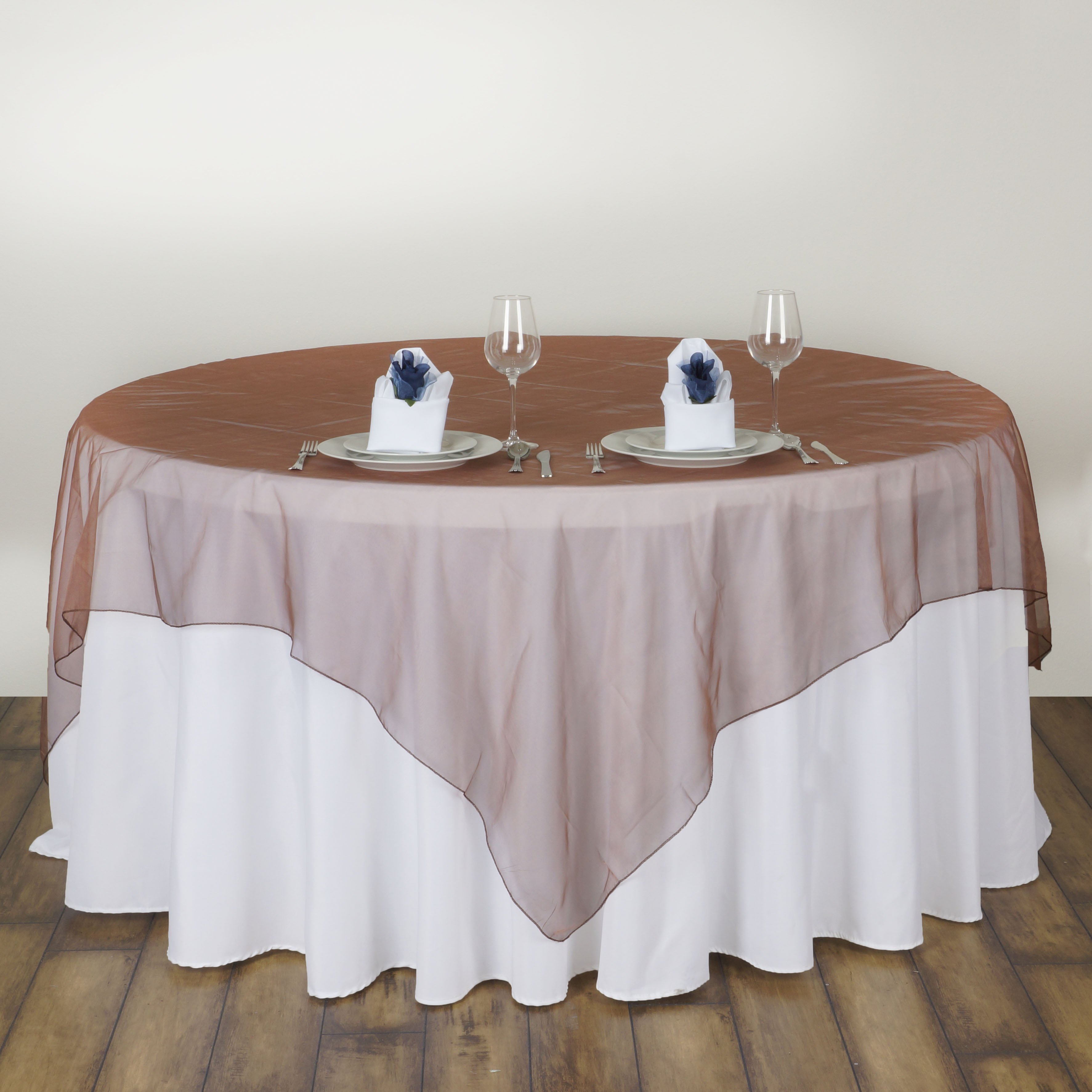 """10 Pc 72x72"""" Sheer Organza Table Overlays Wedding Party. Modern Desks White. Pub Dining Table. Ashley Furniture Dining Tables. White Vanity Desk With Mirror. White Small Computer Desk. Target Furniture Kids-desks. Bathroom Side Table. Men's Drawers"""