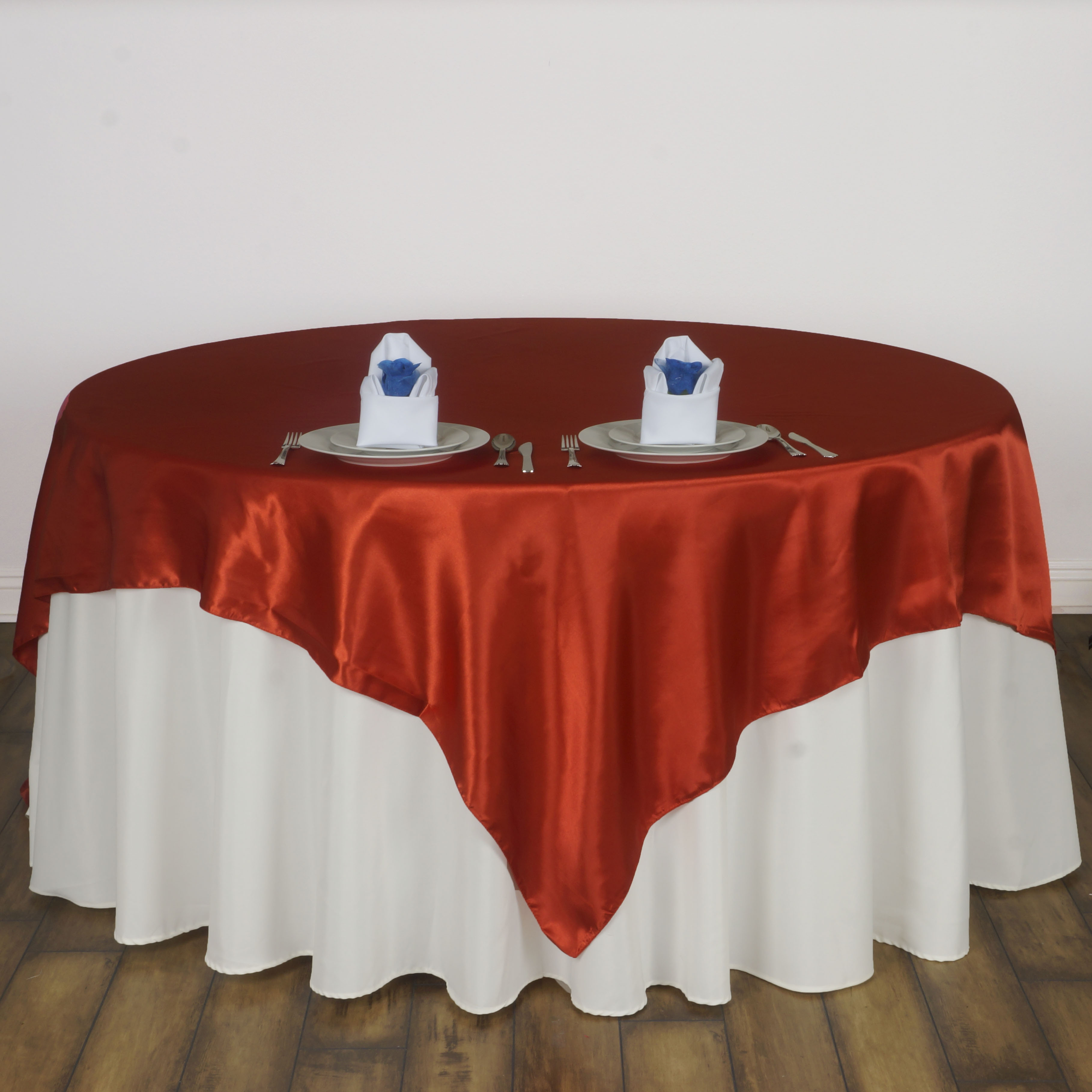 "15 Pcs 72x72"" Square Satin Table Overlays Wedding Linens. Rooms To Go Desks. Kitchen Cabinet Drawer Pulls. White Chair For Desk. Golden Ratio Massage Table. Mini Fridge For Desk. Desk Solid Wood. 8 Foot Slate Pool Table. Building Computer Desk"