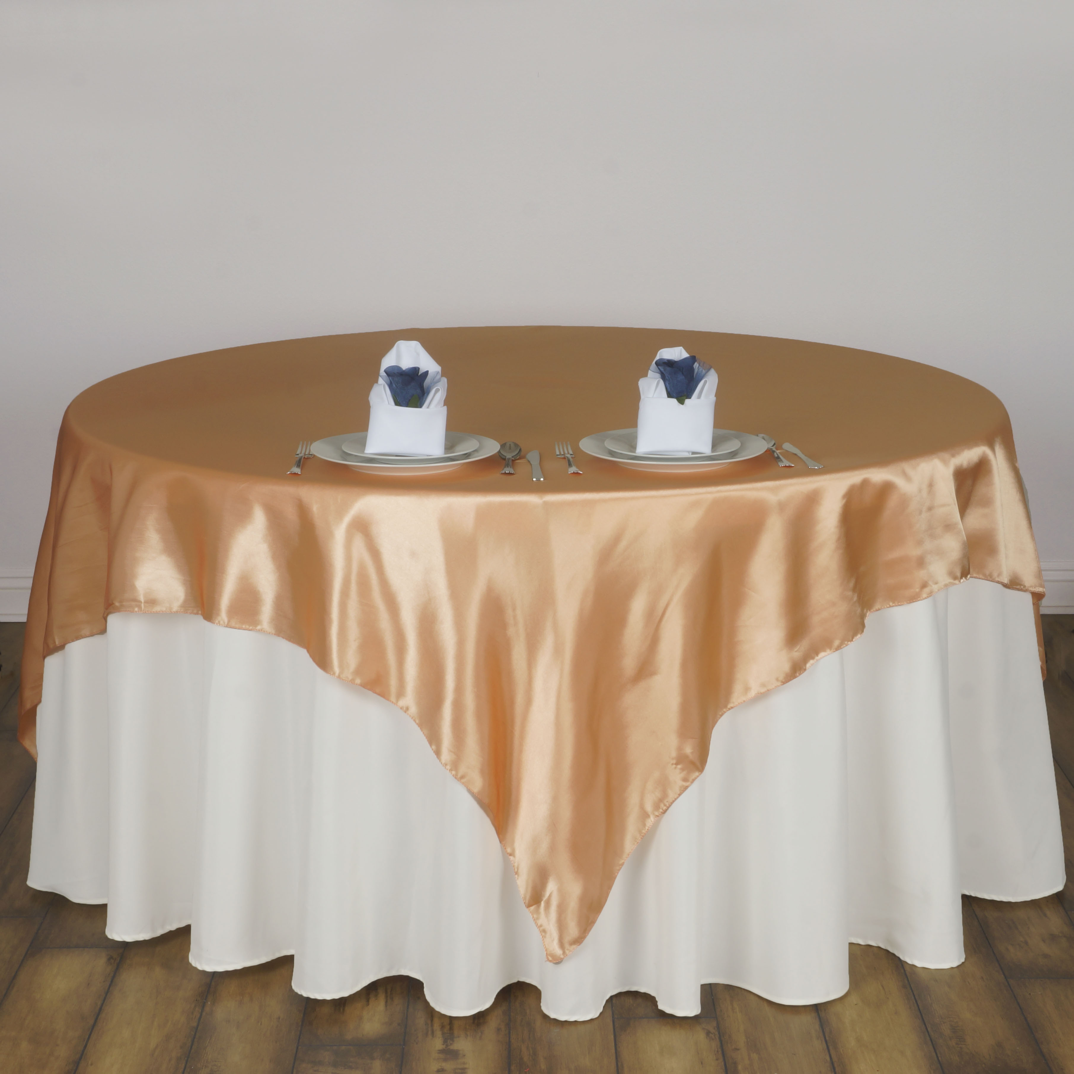 10 Pack 72 Square New Satin Table Overlays Linens Wedding Wholesale Sup