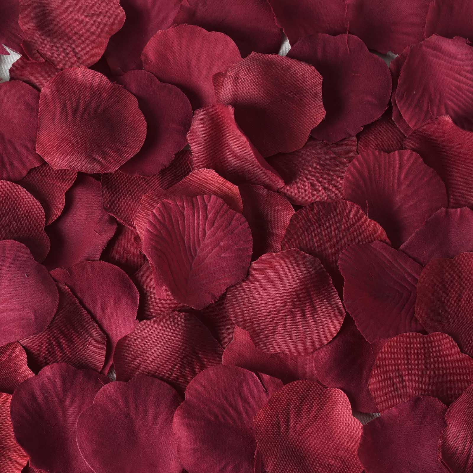 Garden Roses Flower Petal: 3000 Silk ROSE PETALS Wedding Cheap Wholesale Decorations