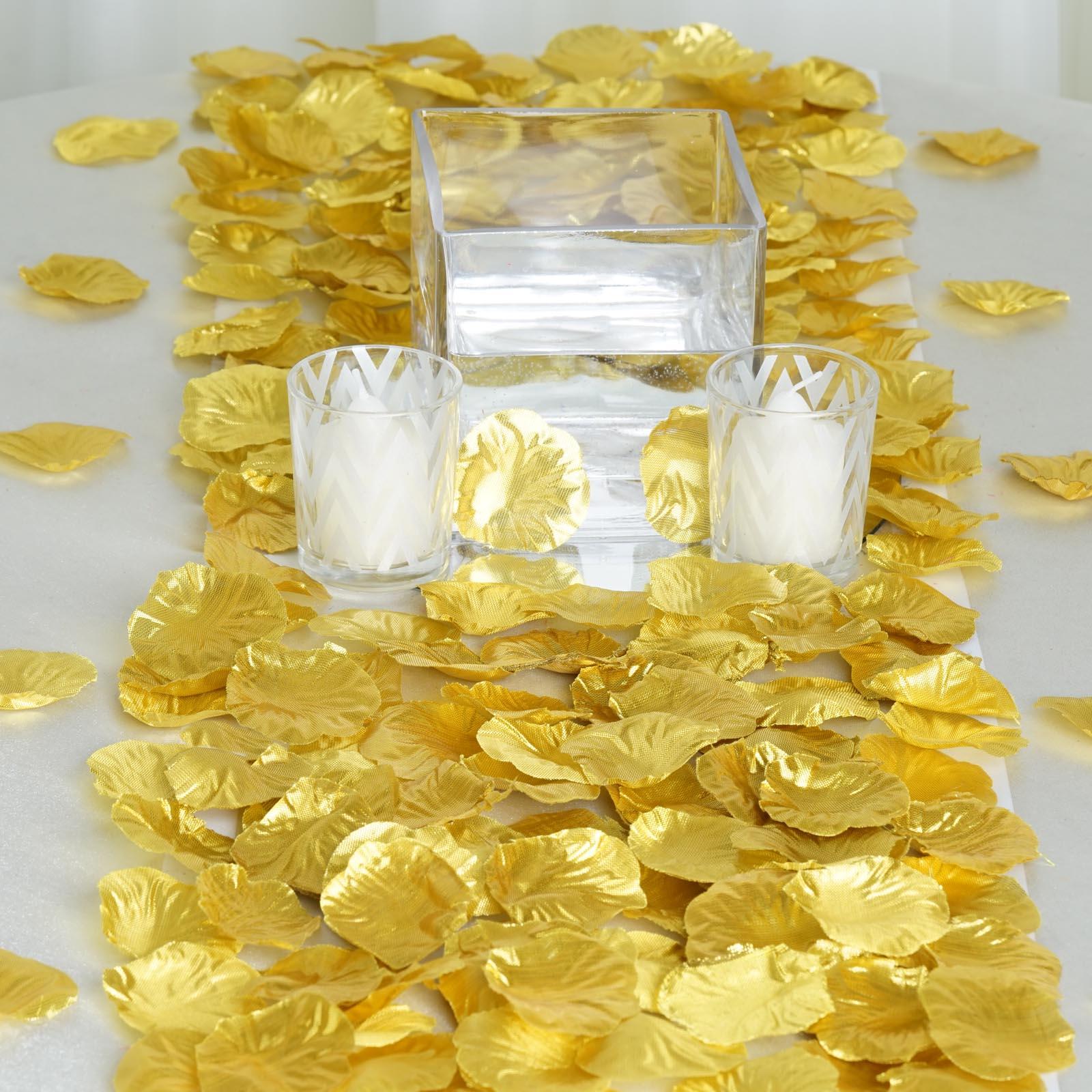 2000 silk rose petals wedding favors wholesale cheap for Cheap wedding decorations in bulk