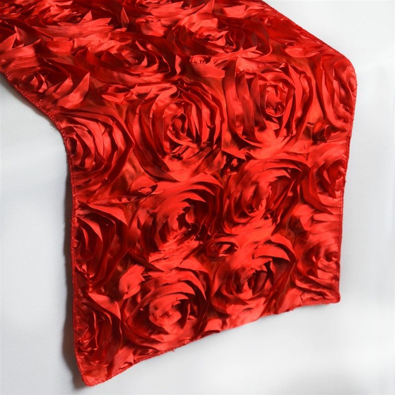 14 x 108 3d floral table runner wedding party catering for 108 table runner