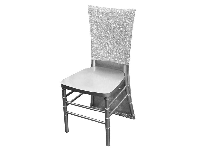 Metallic Spandex Slipcover CHAIR COVERS Wedding Party Reception Decorations S